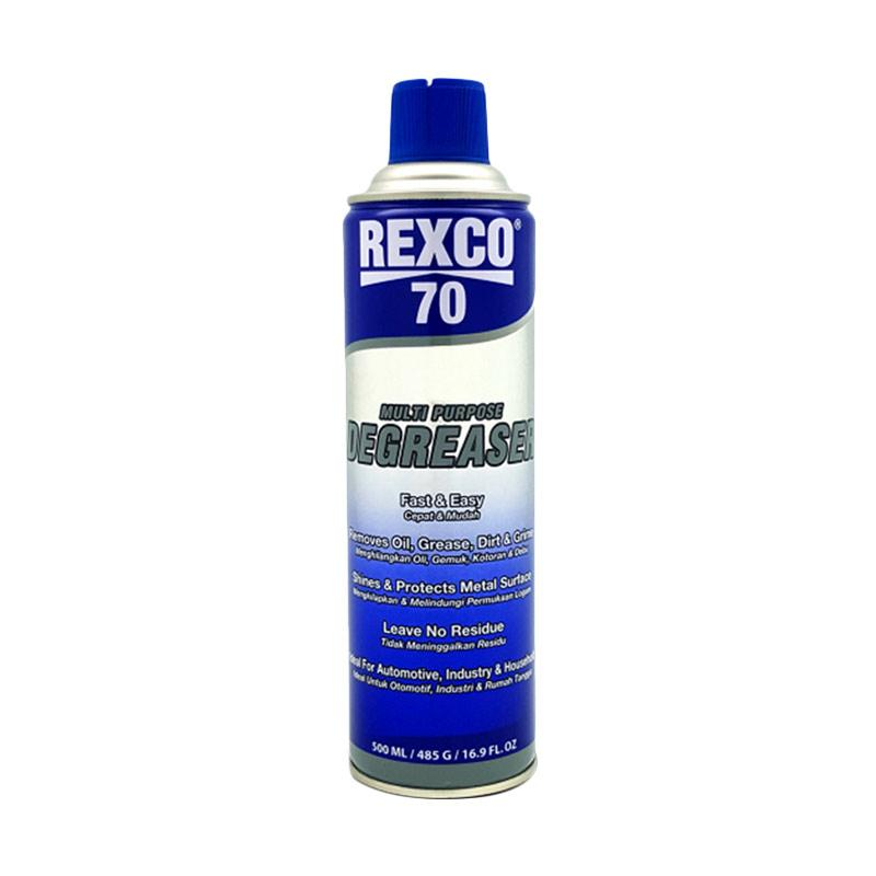 Rexco 70 Multi Purpose Engine Degreaser [500 ml] ORIGINAL MADE IN USA - Spray Pembersih Ruang Mesin & Blok Luar Mesin Mobil - DEBU KOTORAN MINYAK