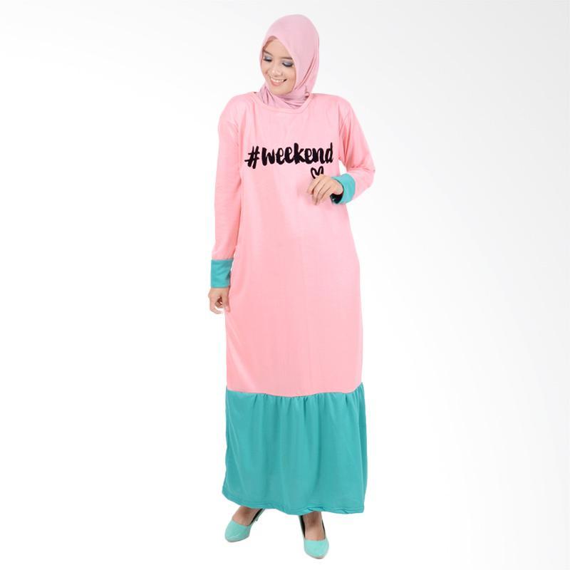 harga Edberth Naura GM 25 Gamis Wanita - Pink Blibli.com
