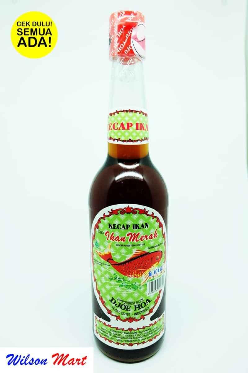 Jual Kecap Ikan Cap Ikan Merah Djoe Hoa 620 Ml Botol Online Februari 2021 Blibli