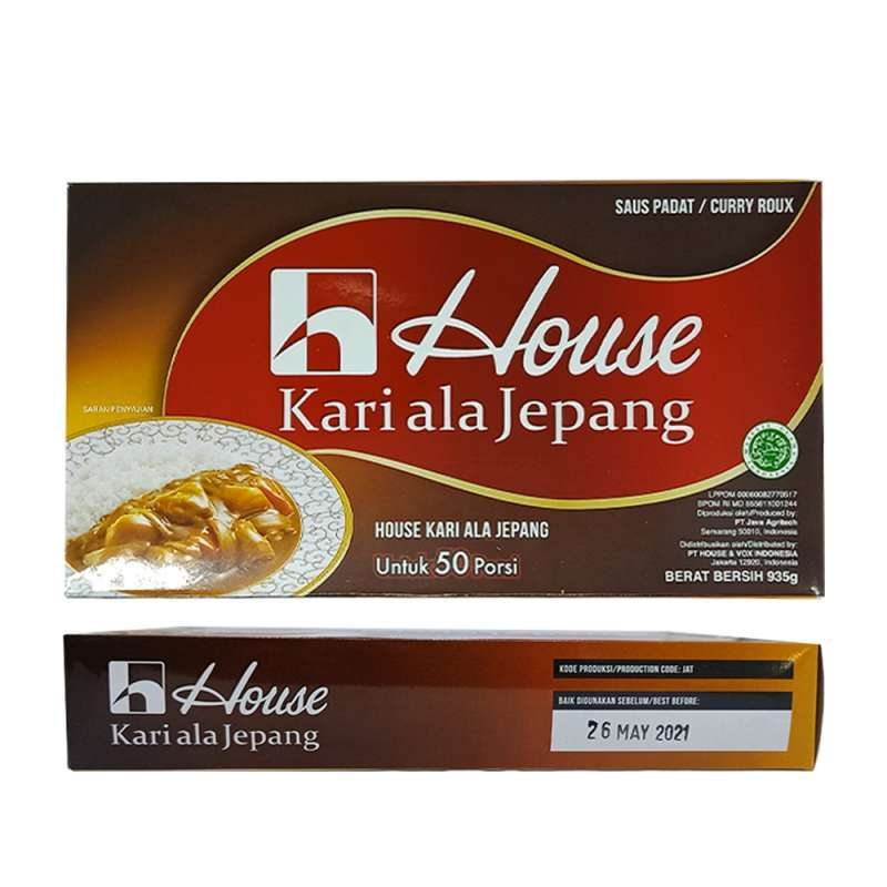 Jual House Curry Sauce Jepang Bumbu Kari Lokal Ala Jepang 1kg Halal Mui Online Februari 2021 Blibli