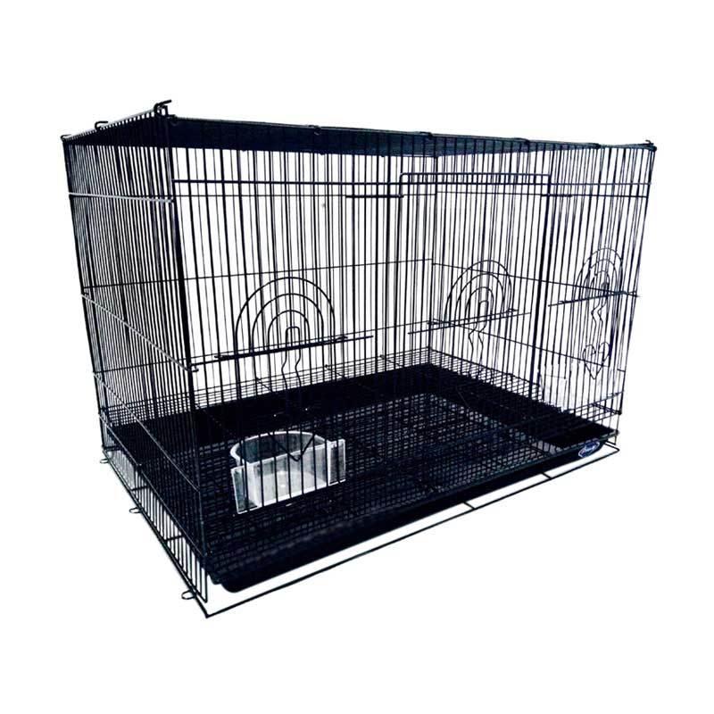harga Boom K22 Lipat Besar Besi Kandang Kucing dan Anjing - Hitam Blibli.com