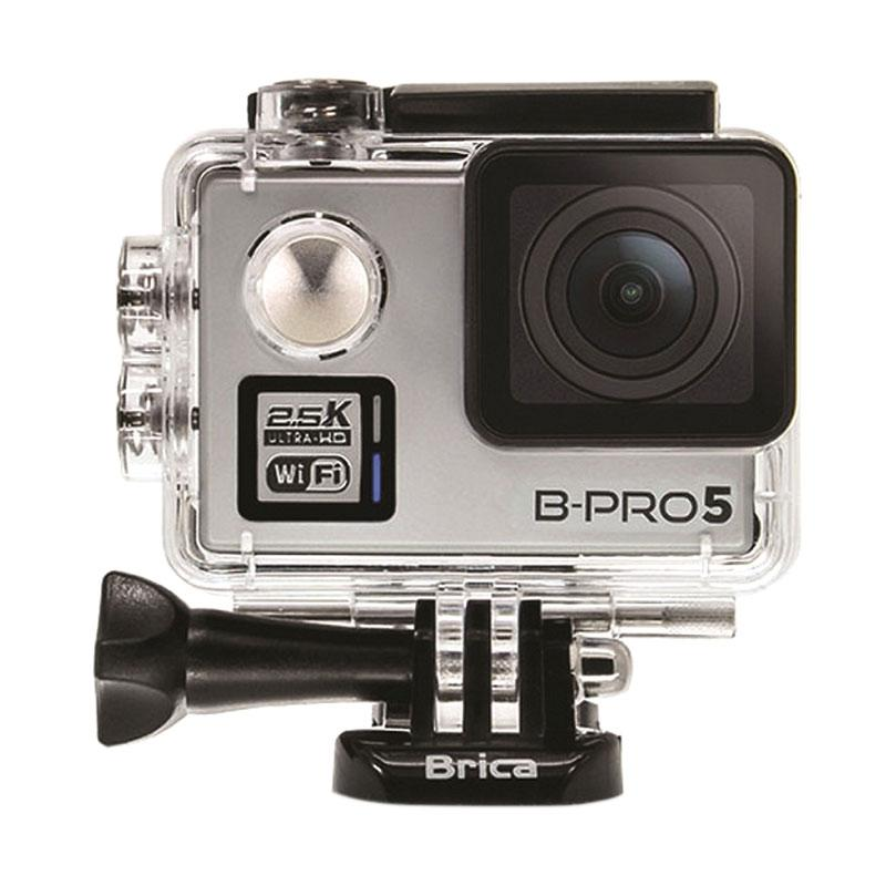 harga BRICA B-PRO5 ALPHA PLUS 2 inch LCD (Silver) + Sandisk 16GB + ATTanta SMP-09 + Phone Clip + Hardcase Medium + Battery 1050 mAh Blibli.com