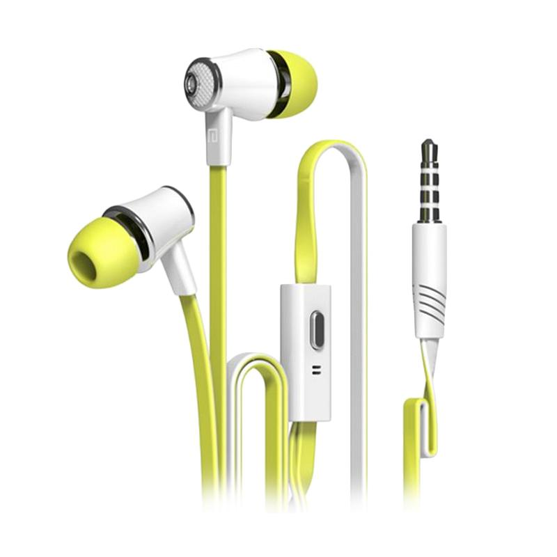 Langsdom JM21 Earphone with Microphone - Yellow