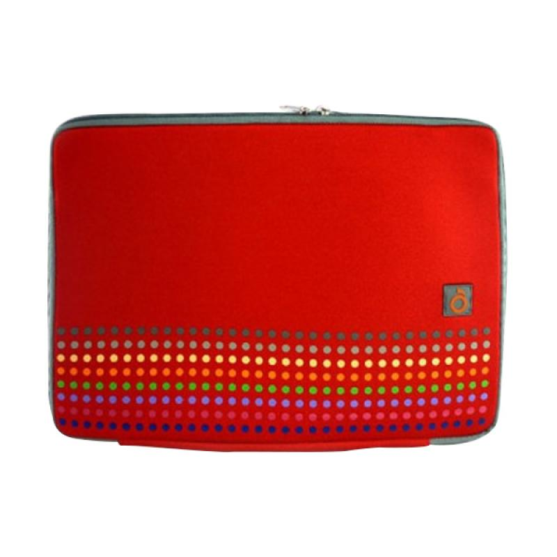 Mohawk 7017 Rainbow Softcase for Notebook 14 Inch - Red