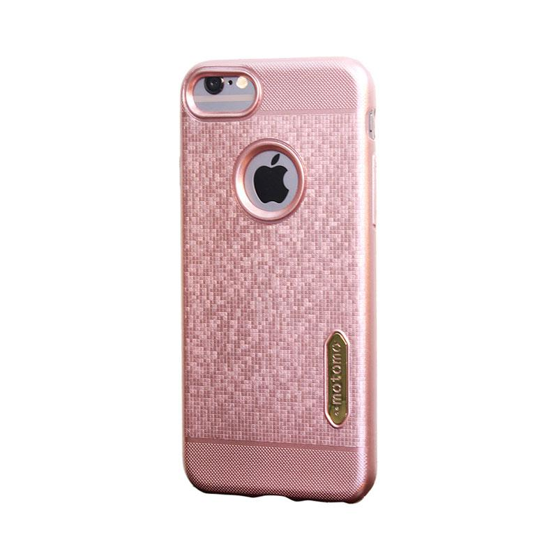 Motomo Softcase Casing for iPhone 7G - Rose Gold