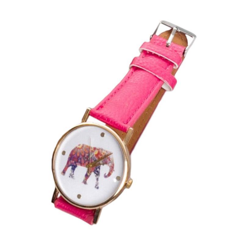 harga Paroparoshop Elephant Watch - Hotpink Blibli.com