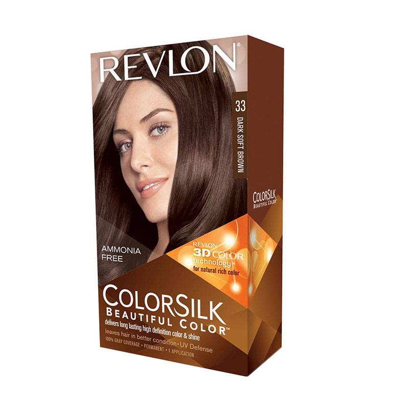 Revlon Color Silk Hair Color - Dark Soft Brown