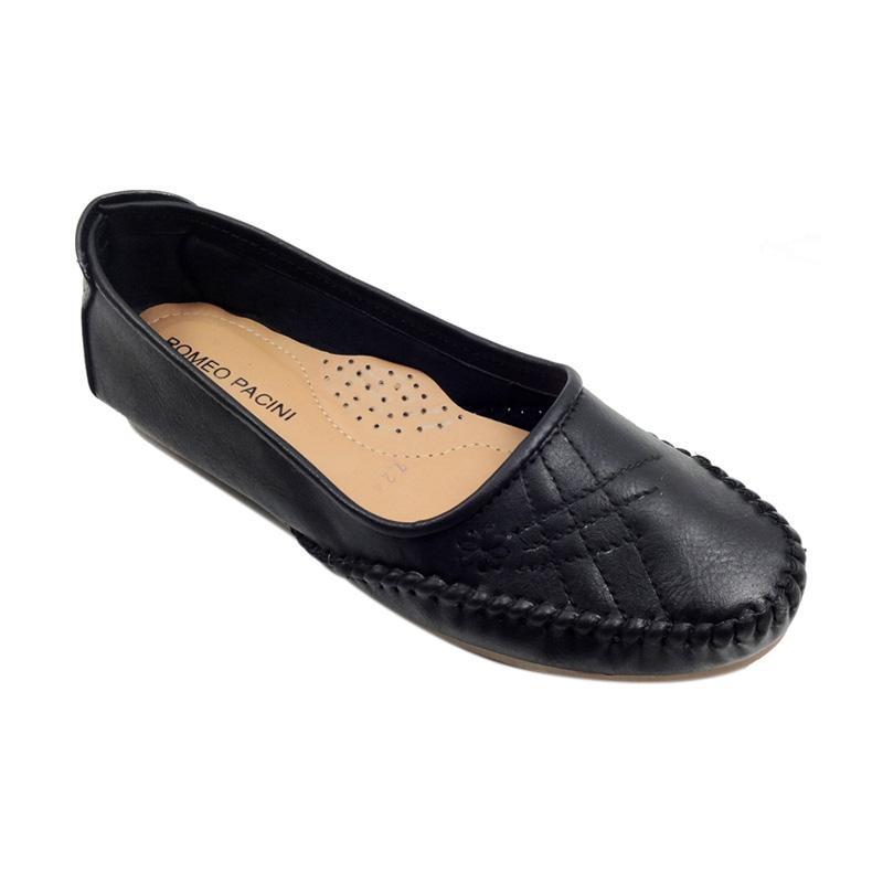 harga Romeo Pacini ST 724 Sepatu Flat Wanita - Hitam Blibli.com