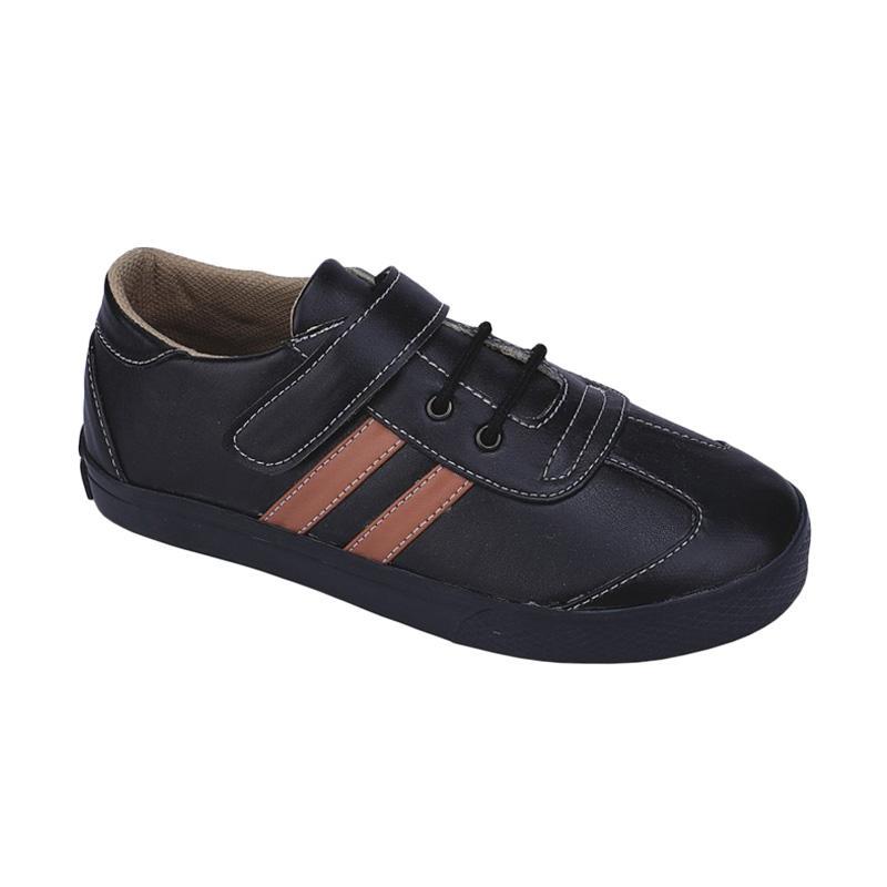 harga Syaqinah 62 Sepatu Sneakers Anak Laki-Laki - Hitam Blibli.com
