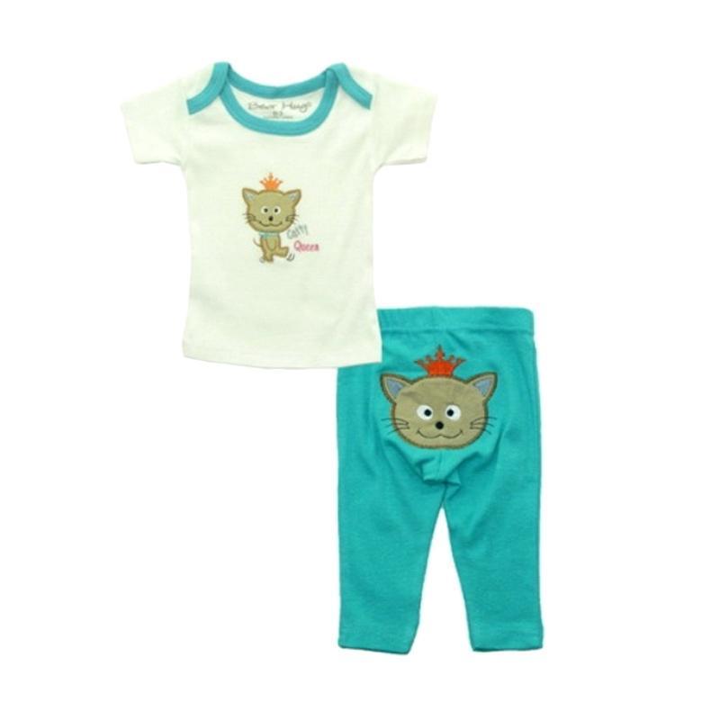 Bearhug Baby Girl Catty Queen Set Pakaian Anak [2 Pcs]