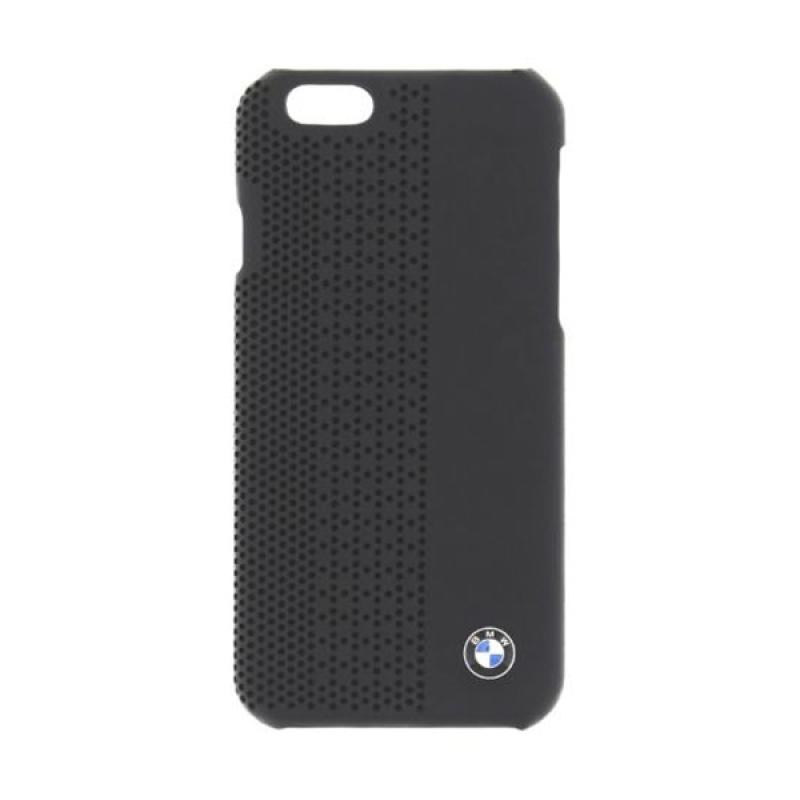 BMW Perforated Hardcase Casing for iPhone 6 Plus - Black