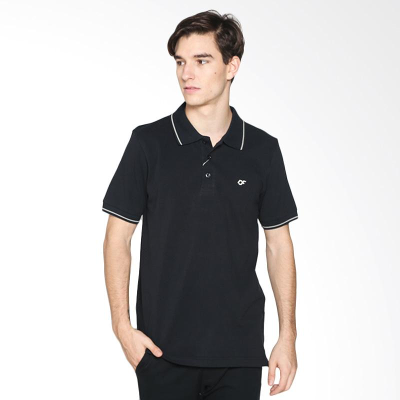 Country Fiesta CFMPB11820 Mens Polo - Black