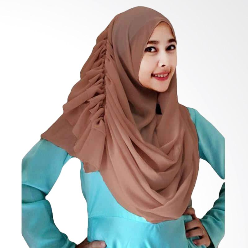 Kus Group Hijab Cassanova Kerudung - Coklat