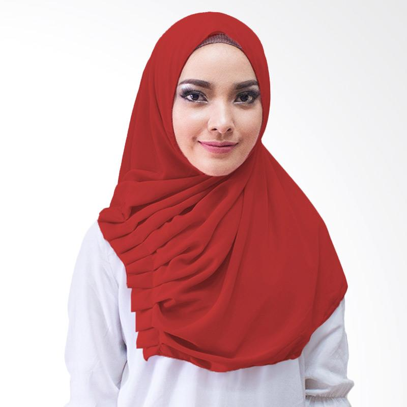 Milyarda Hijab Aliqa Kerudung Instan - Merah