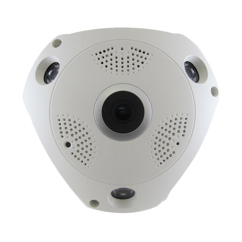 harga NBP VR Cam 360 1.3MP Fisheye 360 Panoramic IP Camera & Adaptor [12 V/ 2 A] Blibli.com
