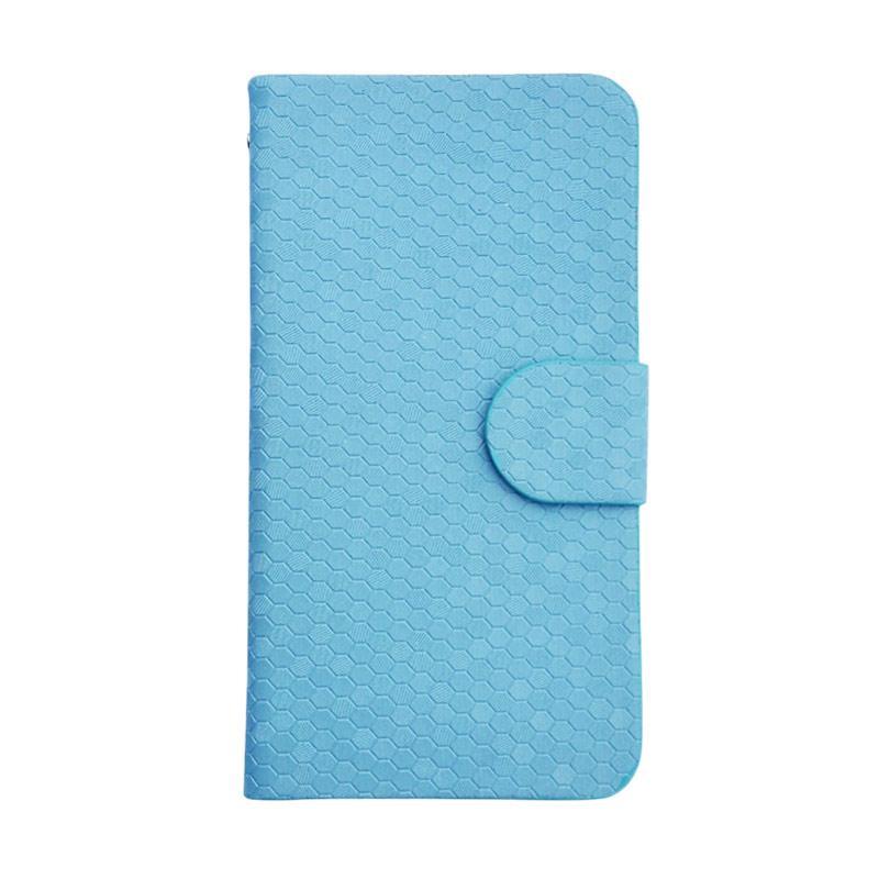 OEM Case Glitz Cover Casing for Redmi Note 2 Pro - Biru