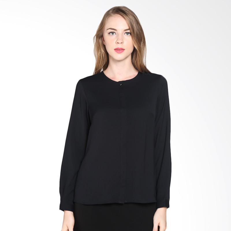 PS Career Long Sleeve PC203AB60061 Shirts Wanita - Black