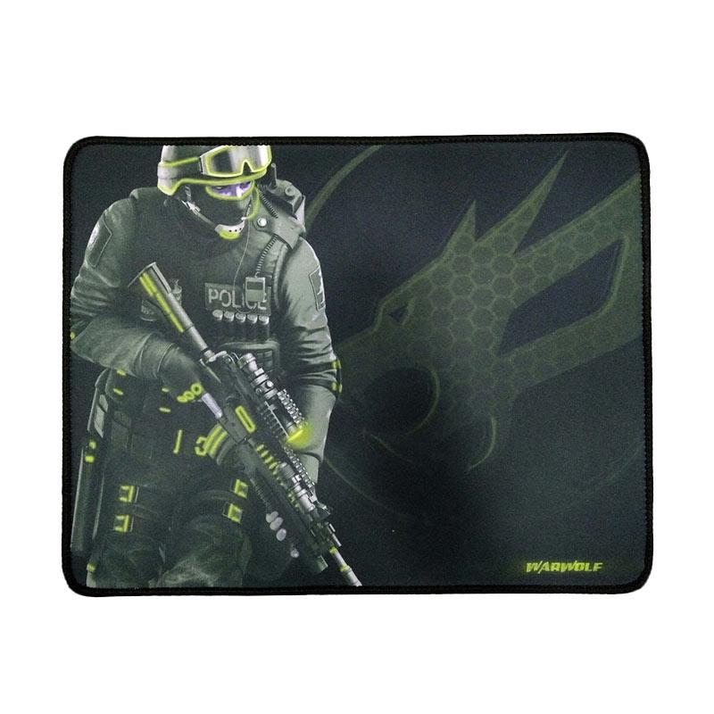 Warwolf Army Gaming Mouse Pad - Kuning [Size M]