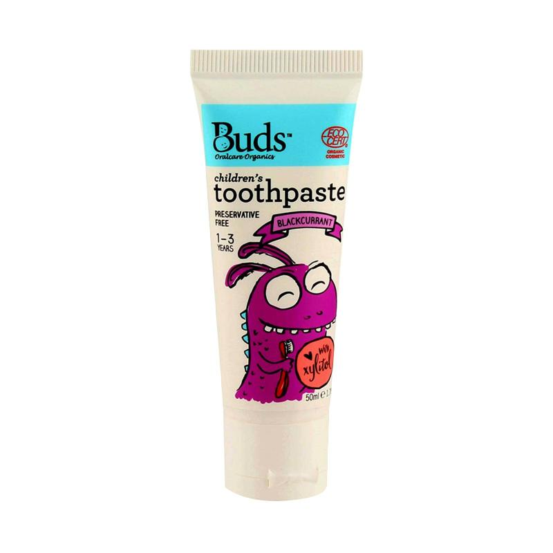 Buds Children's Toothpaste - Blackcurrant [50 mL/1 - 3 Year]