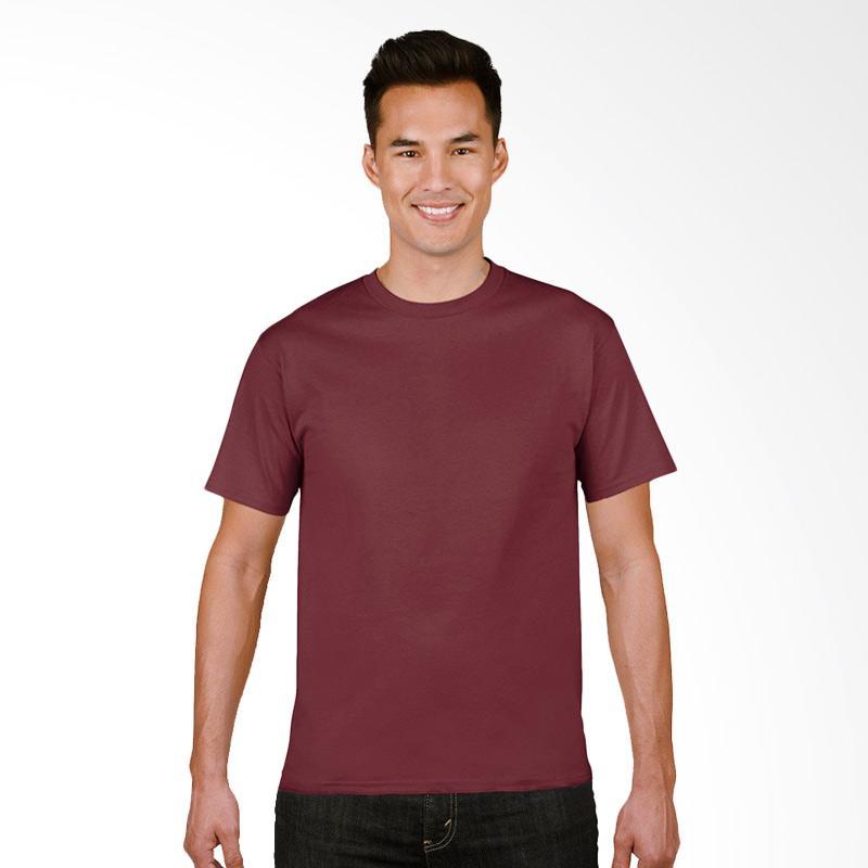 Gildan Original SoftStyle T-Shirt Pria - Maroon
