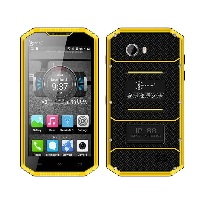 Kenxinda Ken Mobile W7 Pro Smartphone - Kuning [16GB/IP68]