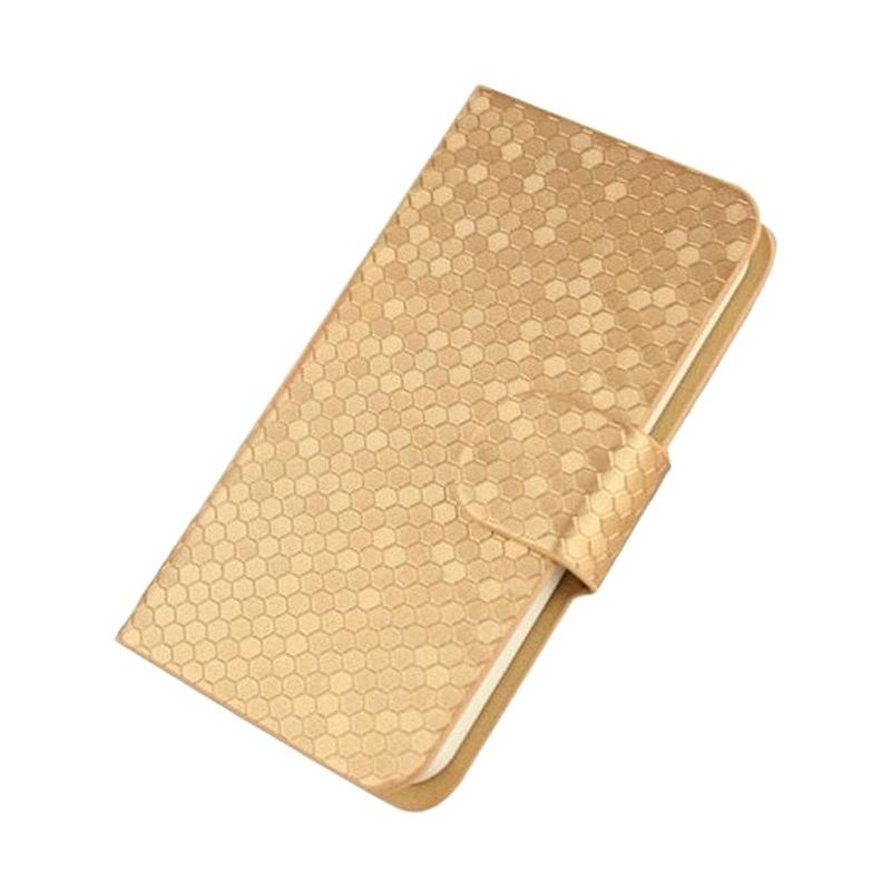 OEM Case Glitz Cover Casing for Sony Xperia Z5 - Emas