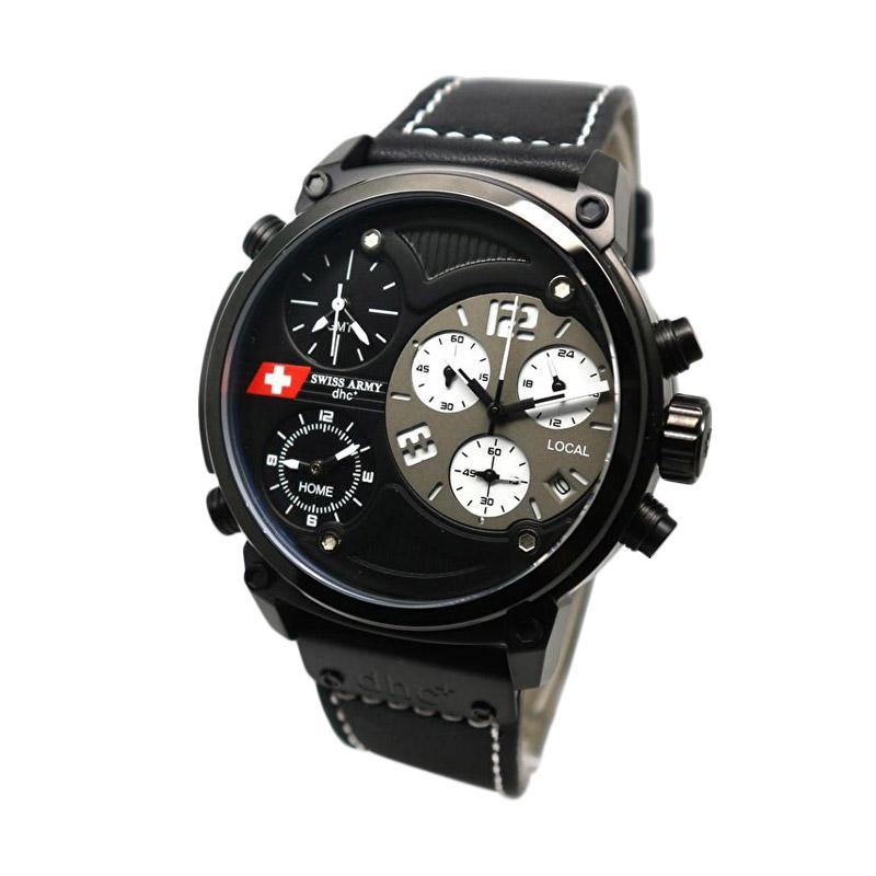 Swiss Army SA 4068 Jam Tangan Pria - Black White
