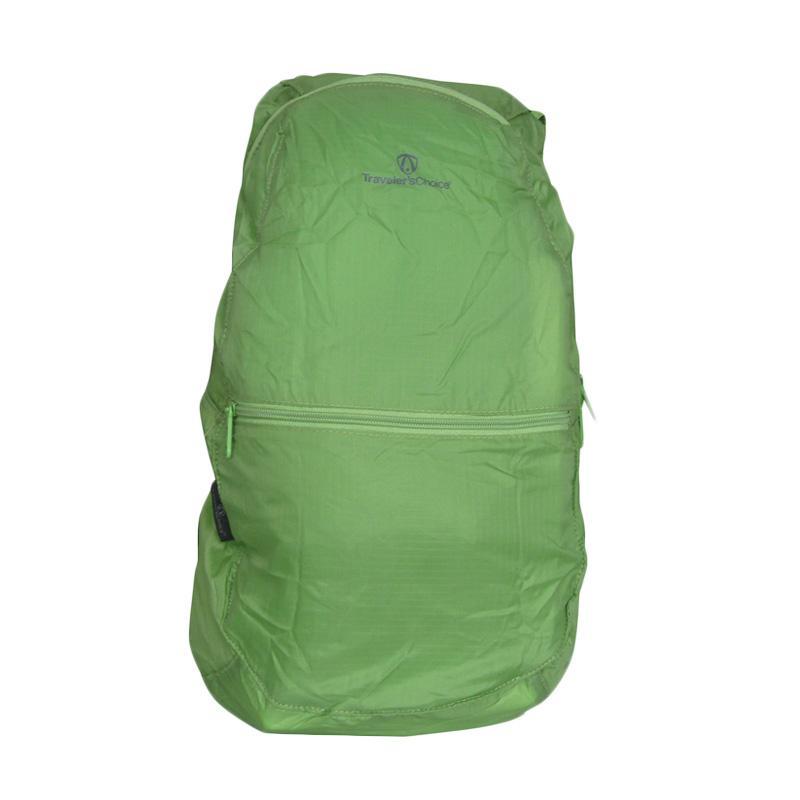 Traveler's Choice Foldable Backpack - Green