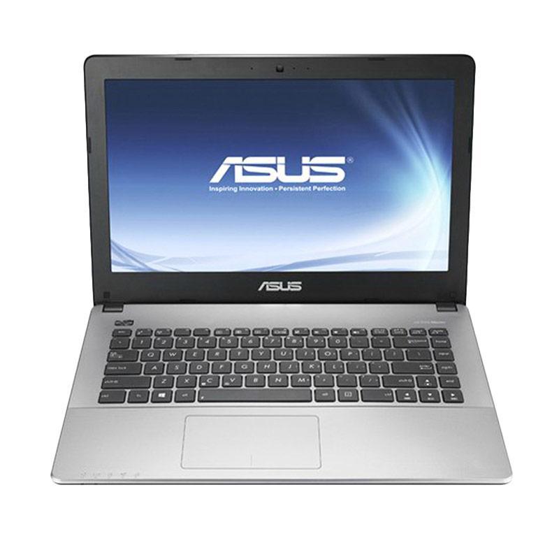 Intel - Asus A456UR-GA091D Notebook - Biru [i5-7200U/ 4GB/ Nvidia GT930MX 2 GB]