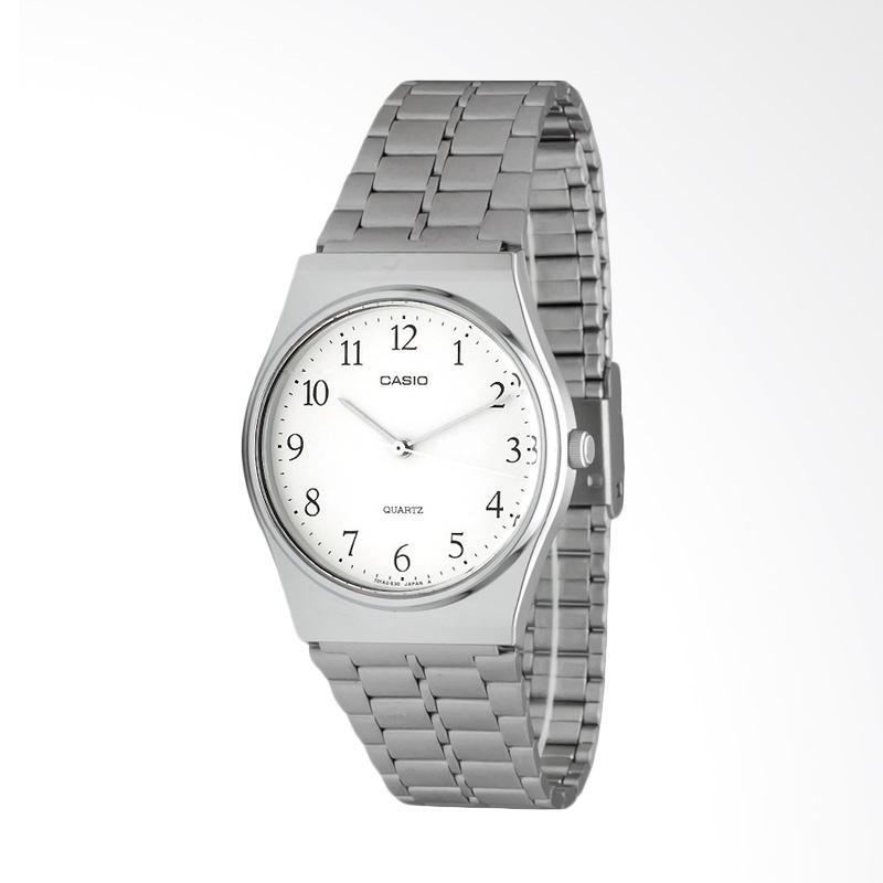 CASIO Analog Jam Tangan Unisex MQ-336A-7B - All Gender - Silver White