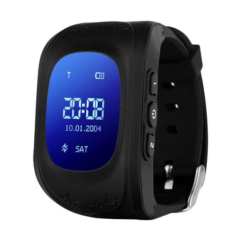 harga Cleverwatch Q50 Smartwatch Jam Tangan Anak - Black Blibli.com
