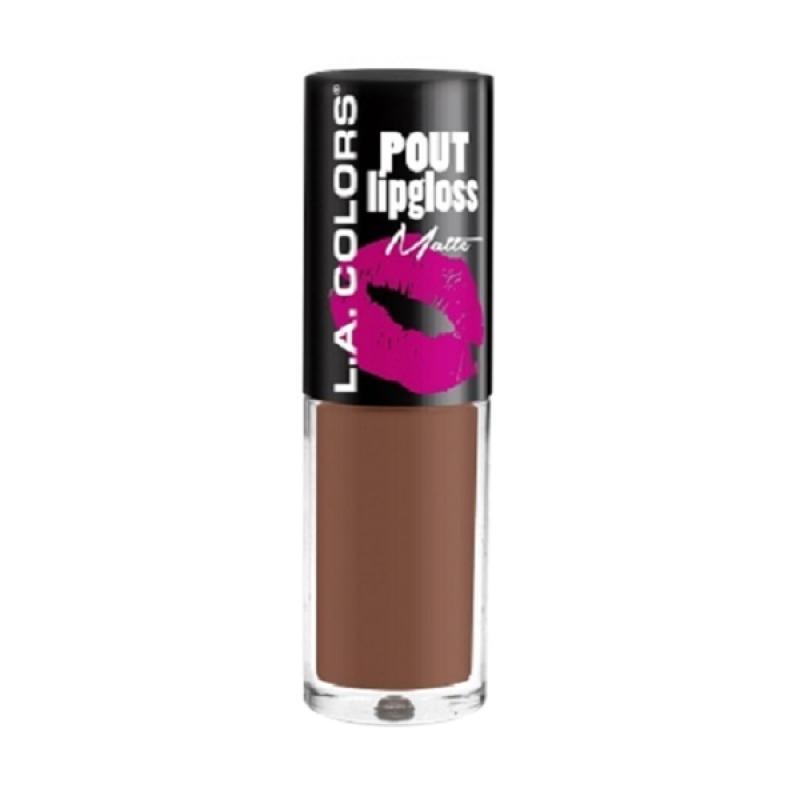 LA Colors Pout Lipgloss Matte - CLG640 Enticing