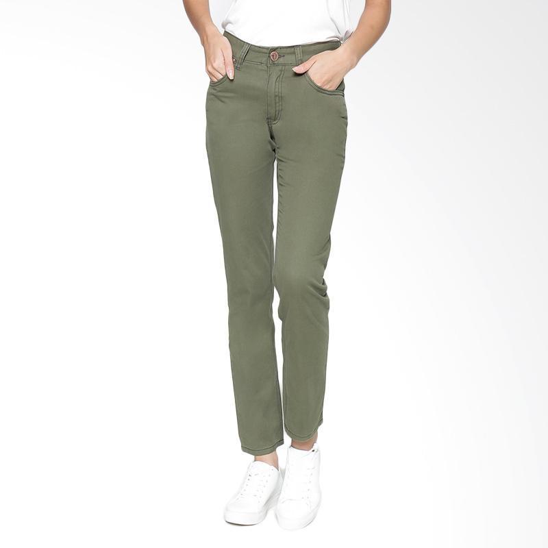 Harga 115505T4 Pants Twill Olive Green PriceNia com Source · 2Nd RED Long Pants Twill Celana Wanita Olive Green 251601