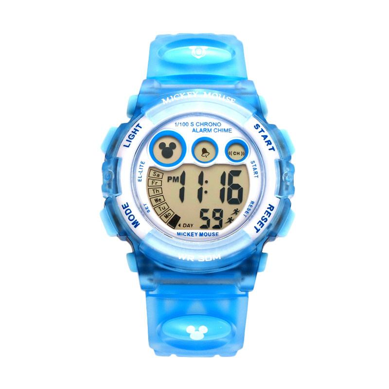 Disney MS15030-L Mickey Jam Tangan Sports Anak - Biru