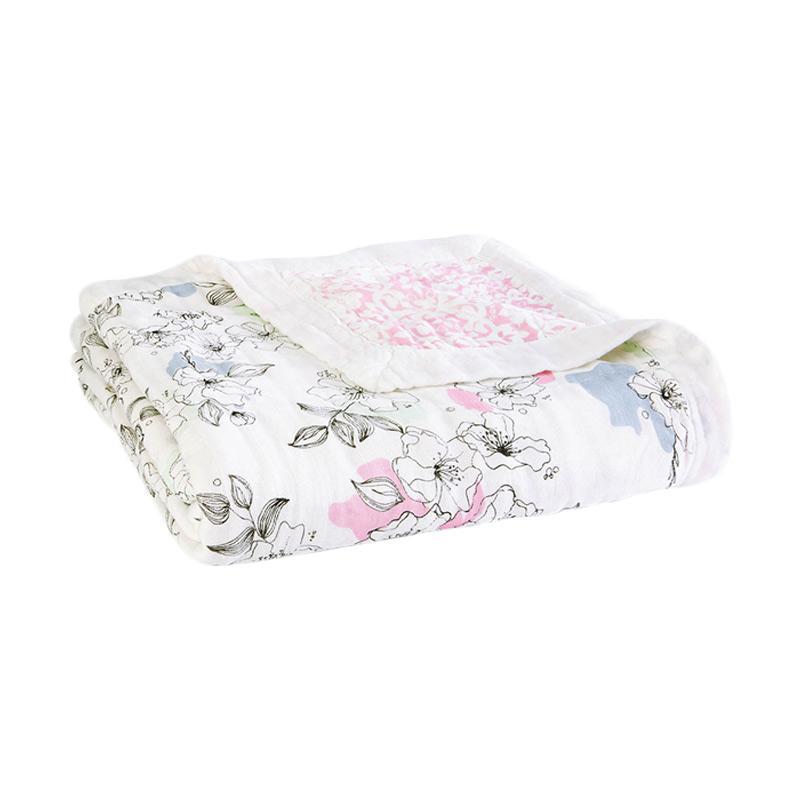 Aden+Anais - Silky Soft Dream Blanket - Meadowlark - Selimut Bayi dan Anak