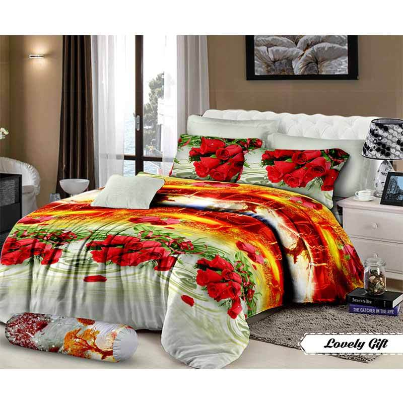 Mahkota Motif Lovely Gift Disperse Set Sprei