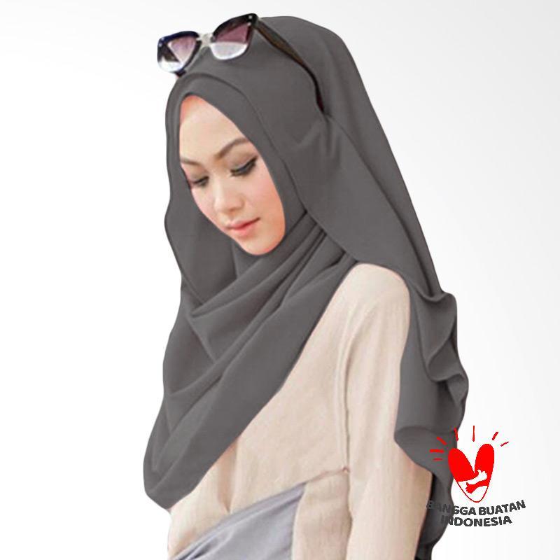 Milyarda Hijab Pashmina Instant Belle - Grey