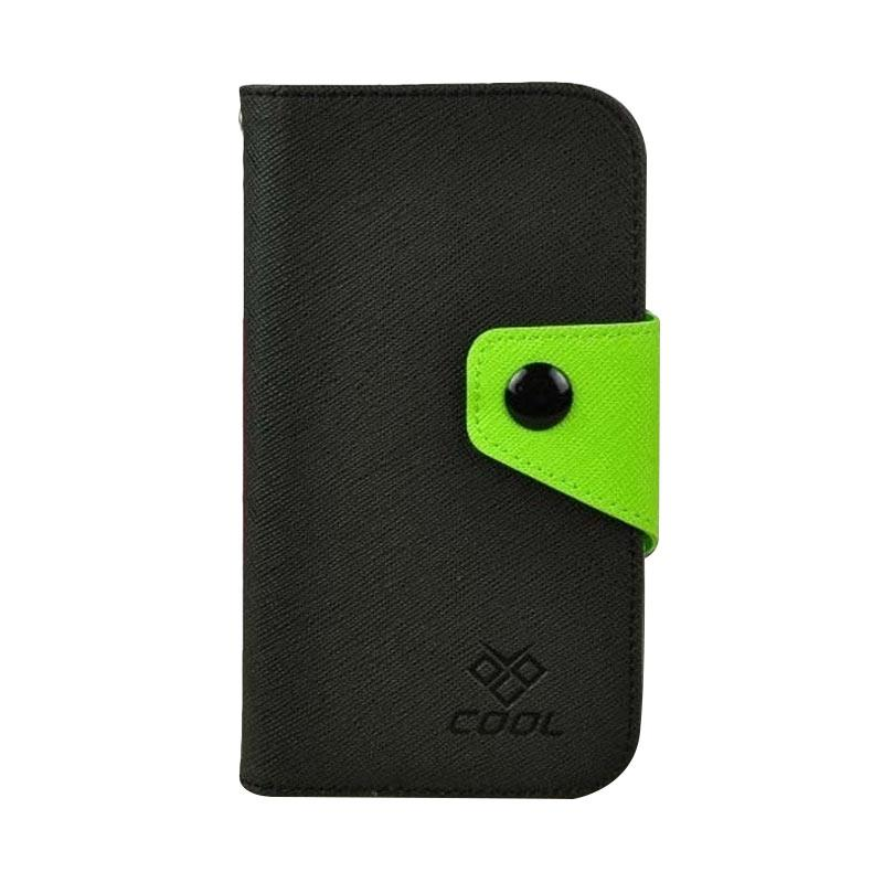 OEM Rainbow Flip Cover Casing for Vivo X5 Pro - Hitam