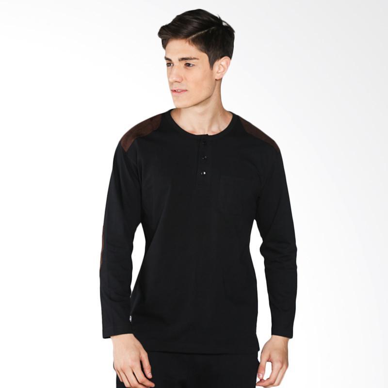 Popculture LT 039 Bumper Long Sleeves - Black Extra diskon 7% setiap hari Extra diskon 5% setiap hari Citibank – lebih hemat 10%