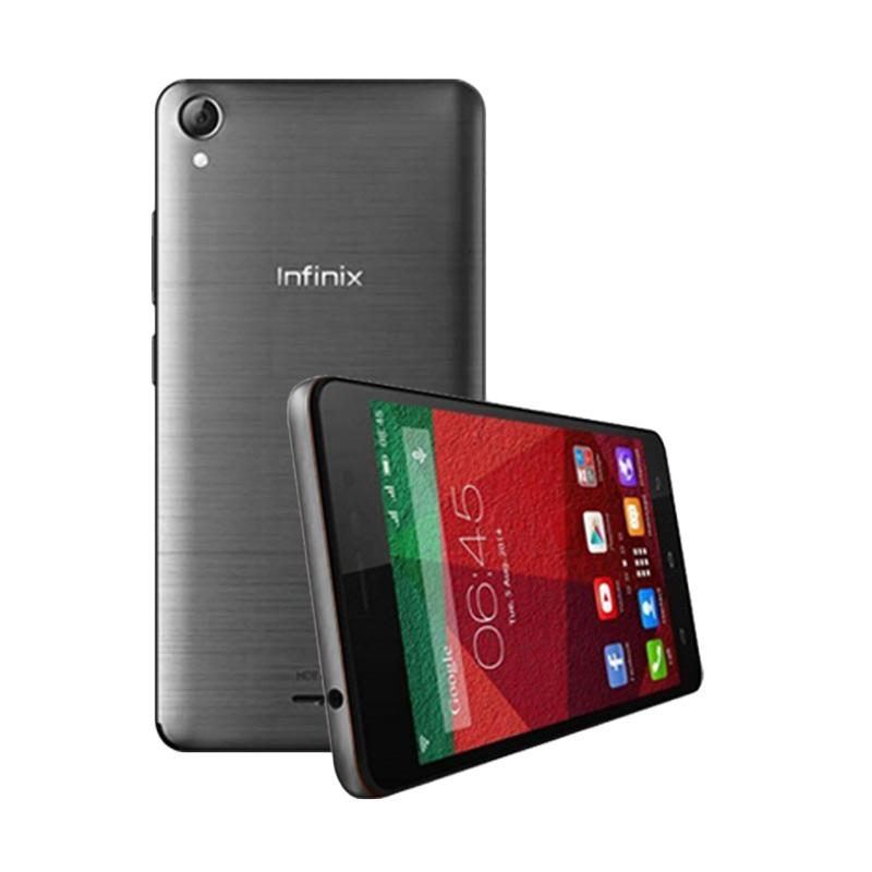 Ultrathin Casing for Infinix Hot Note - Black Clear