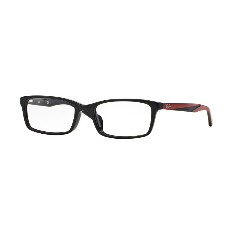 Ray-Ban 5528 Vista Optical RX5335D Demo Lens Kacamata - Black [Size 54]