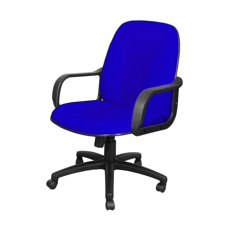 harga Uno U-14 MAP-2 Office Chair Milan - Biru [Khusus Jabodetabek] Blibli.com