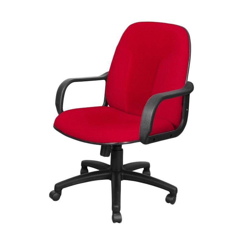 Uno Milan MAP-2 U-1 Office Chair - Merah [Khusus Jabodetabek]