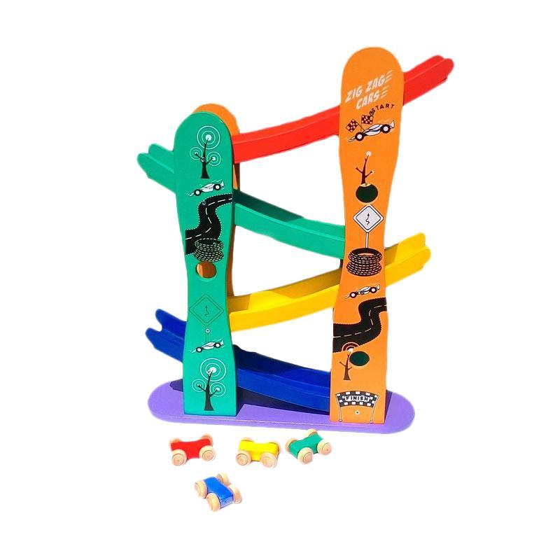 Atham Toys Mobil Luncur Zig Zag Mainan Anak