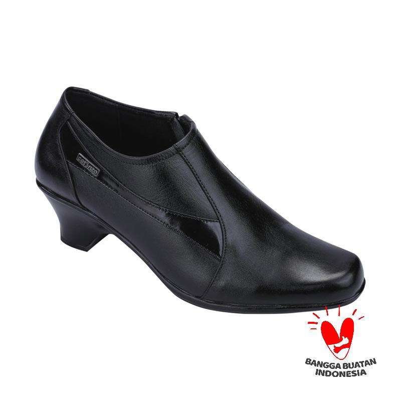 harga Catenzo Holics Kulit US 025 Sepatu Kerja Wanita - Hitam Blibli.com