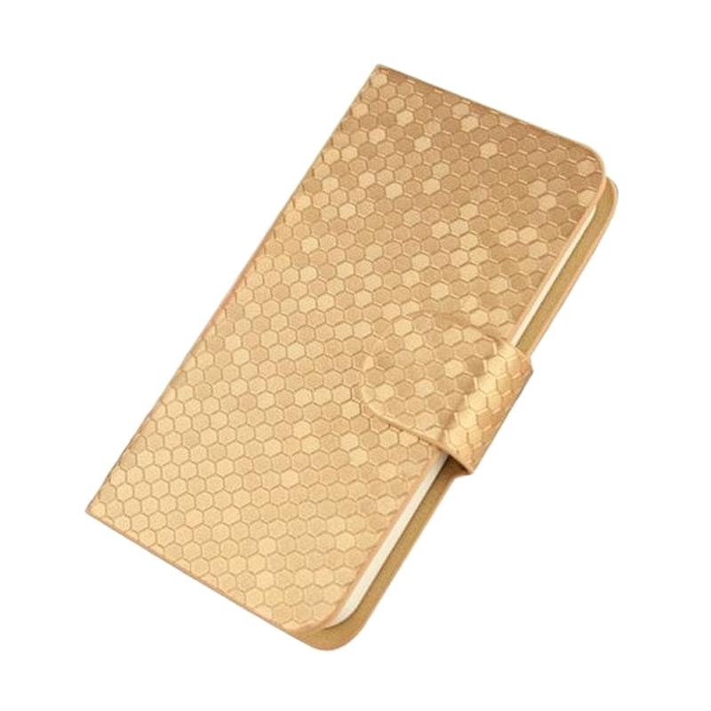 OEM Case Glitz Cover Casing for Oppo Find 9 Plus - Gold