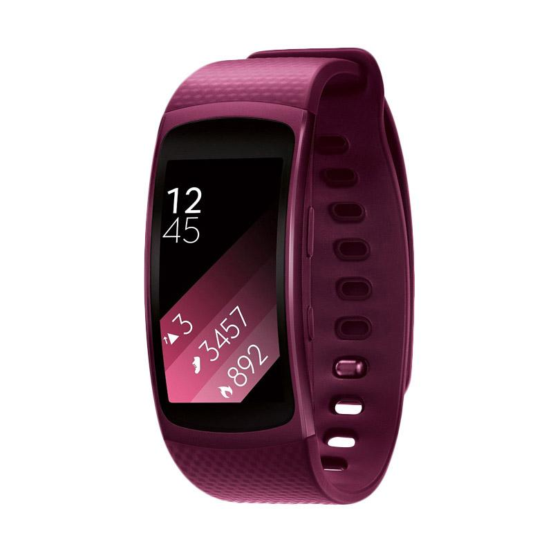 Samsung Gear Fit 2 Activity Tracker - Pink [Large]