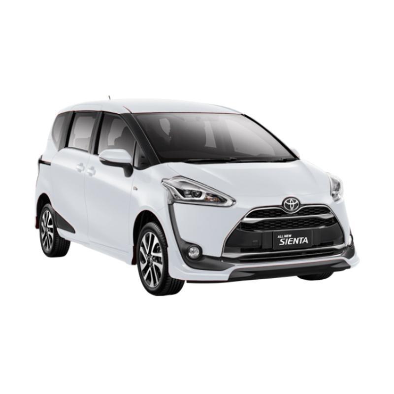 Toyota Sienta 1.5 E Black Trim Mobil - Super White Extra diskon 7% setiap hari Extra diskon 5% setiap hari Citibank – lebih hemat 10%