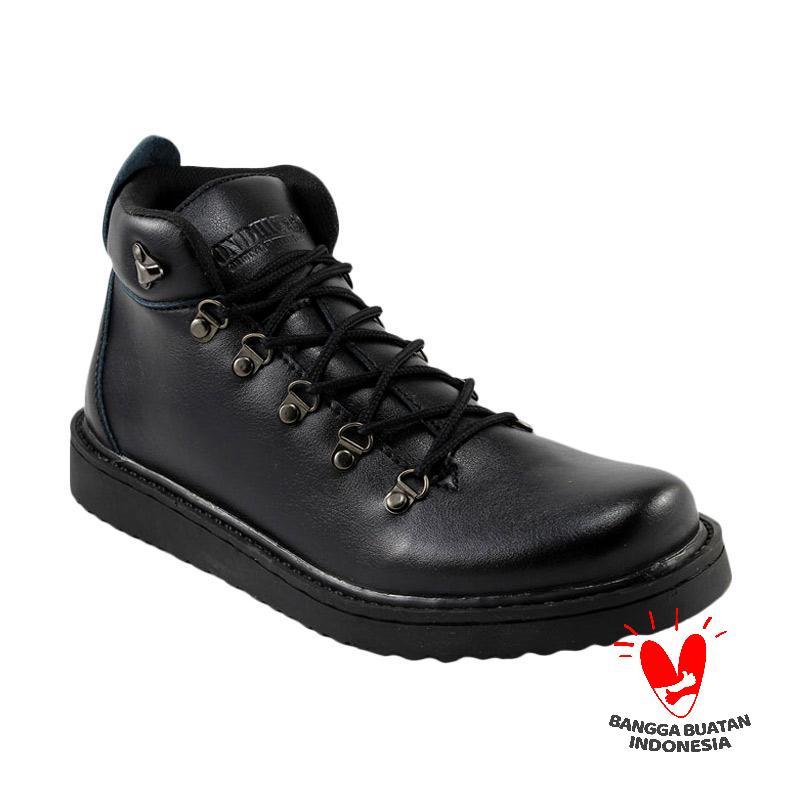 harga Dondhicero Milenium Sepatu Boots Pria - Black Blibli.com