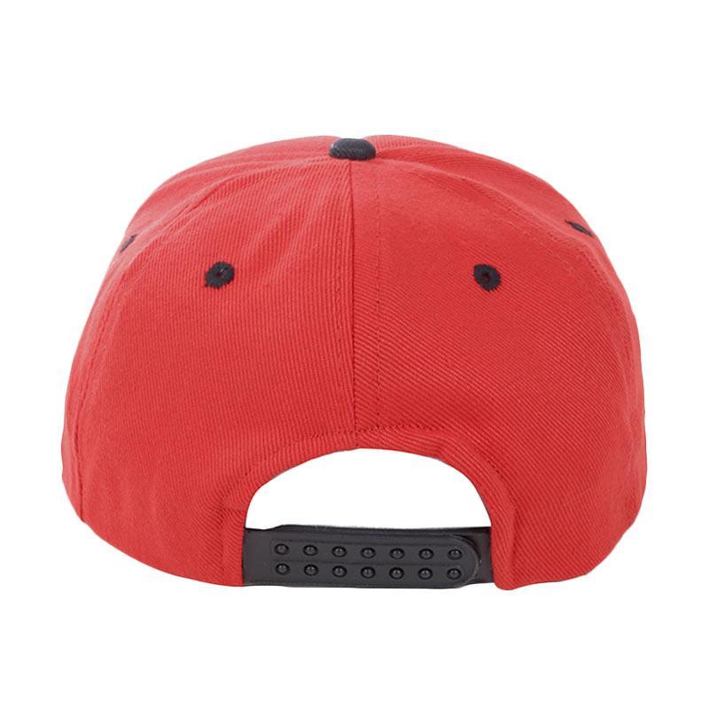 Jual Elfs Shop Topi Snapback Kombinasi - Merah Hitam Online - Harga & Kualitas Terjamin |